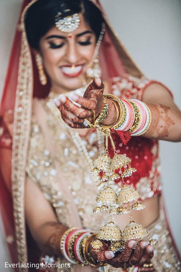 Stunning Indian bridal Kalire  bracelet.