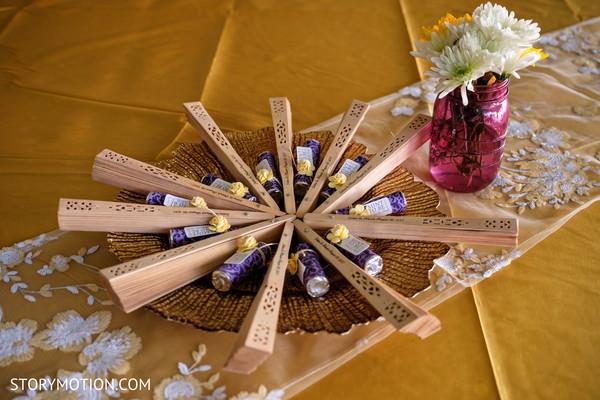 See this elegant haldi ceremony decoration.