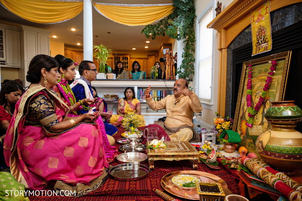 Stunning capture of Maharani's pre-wedding rituals.