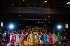 Marvelous capture of sangeet dance.