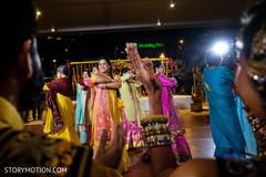 Lovely Indian bridesmaids sangeet dance capture.