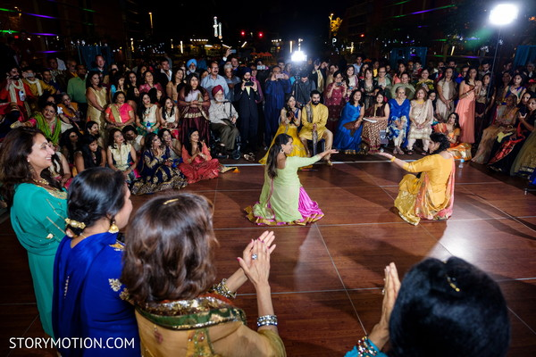 Indian bridesmaids incredible sangeet choreography.