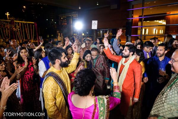Magnificent sangeet celebration photo.