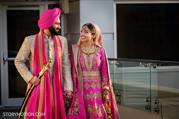 Insanely cute Indian couple's capture.