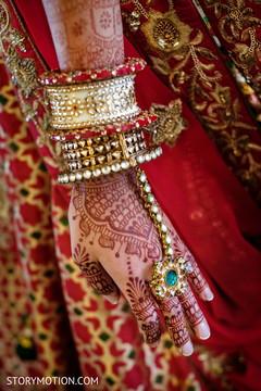 Stunning maharanis bracelets.
