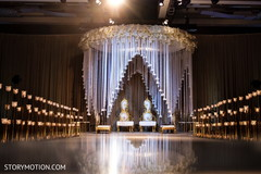 See this incredible indian wedding ceremony mandap decoration.