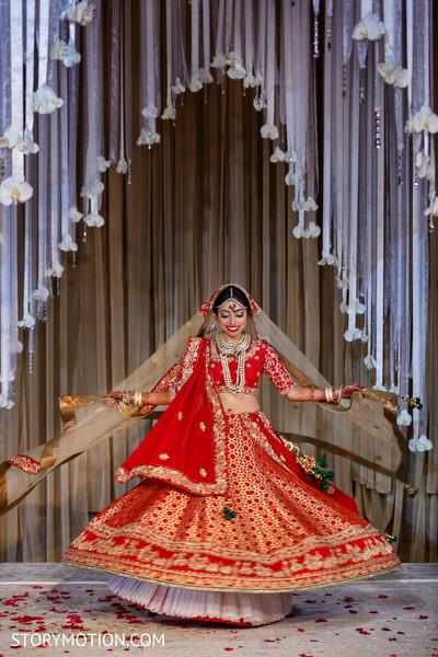 Fabulous indian bride's  capture.