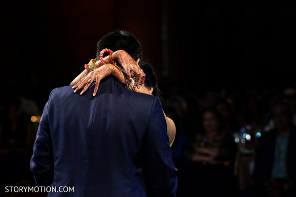 Most romantic indian bride and groom dance.