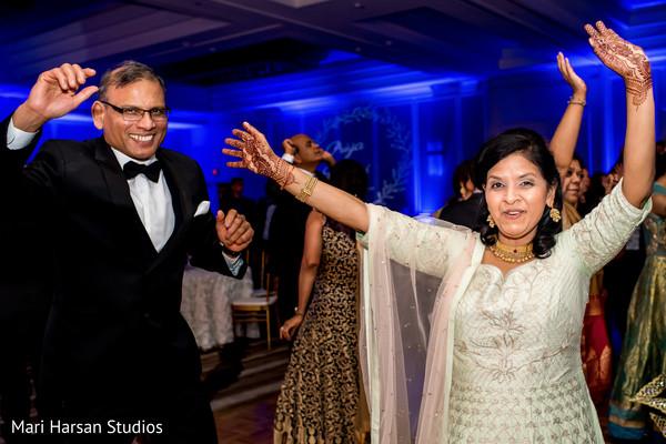 Ravishing parents having a blast