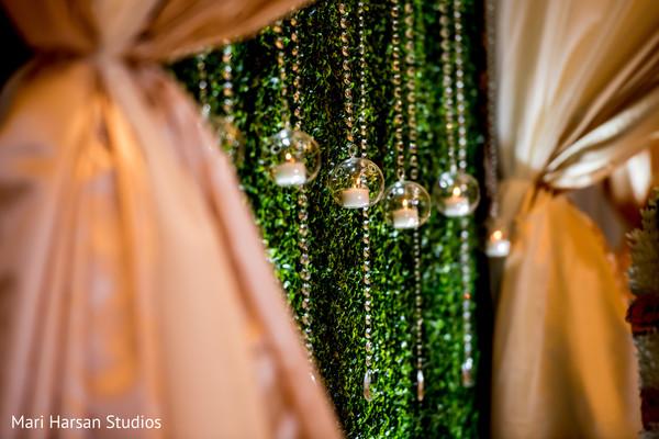 Indian wedding backdrop details