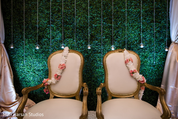 Elegant indian wedding chairs
