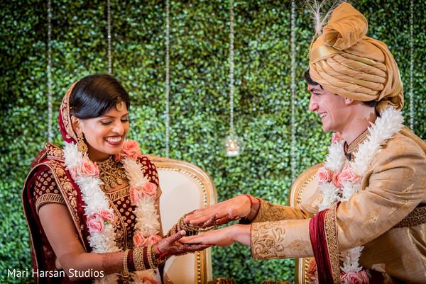 Lovely indian lovebirds having fun