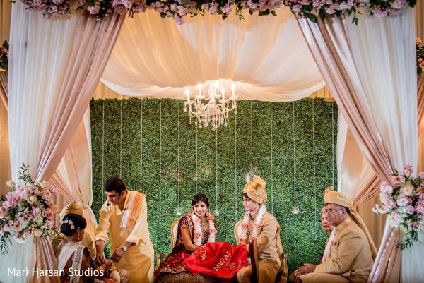 Lovely indian wedding mandap