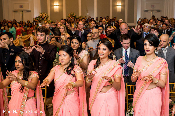 Lovely indian bridesmaids