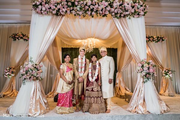 Amazing indian wedding mandap