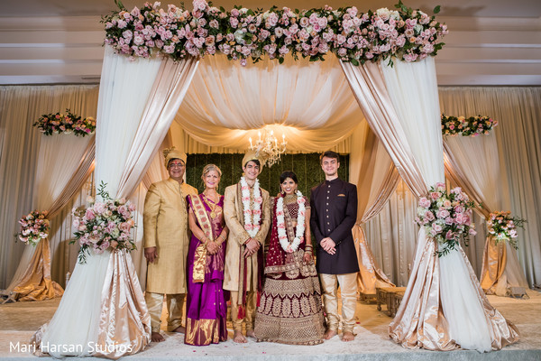 Indian wedding inspiring mandap