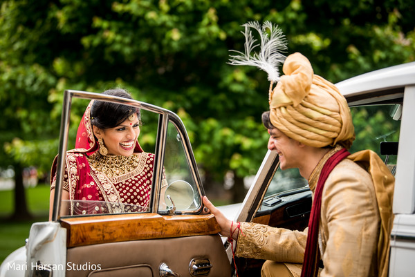 Indian couple looking so in love