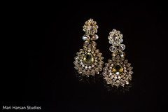 Lovely indian bridal earrings