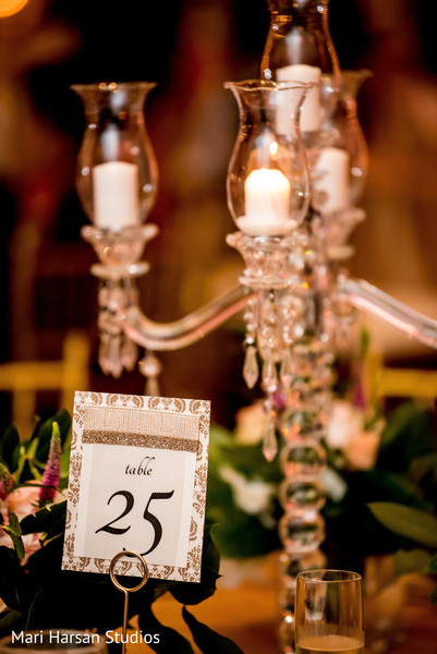 Table id setup for the reception