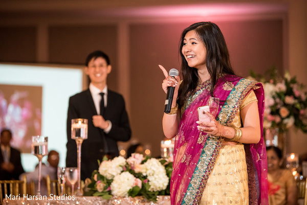Special guest wearing the lengha