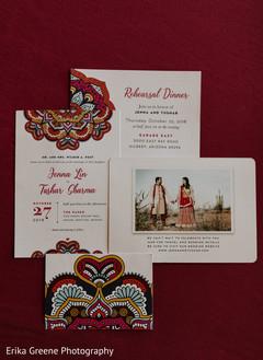 Beautiful indian wedding invitations