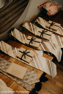 Personalized indian groomsmens favors
