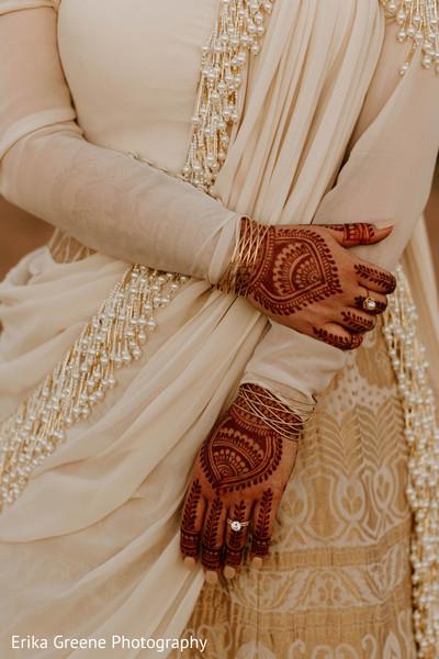 Intricate bridal mehndi designs