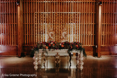 Perfect indian newlyweds table