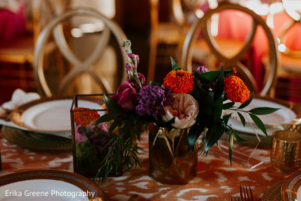 Indian wedding lovely centerpieces