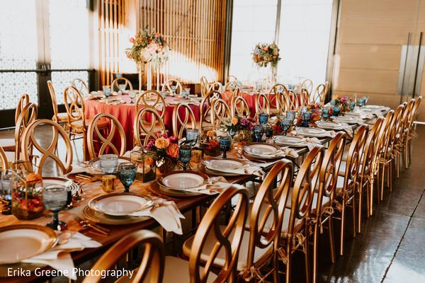 Indian wedding reception inspiring design