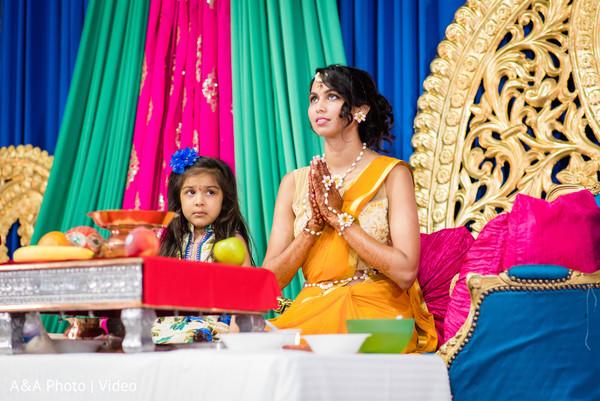 Spiritual moment from Maharani