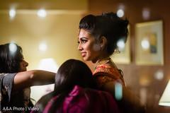 Beautiful Maharani getting ready