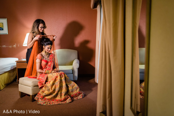 Maharani getting ready for her big day