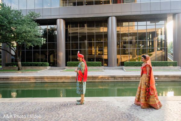 Indian groom about to meet the Maharani