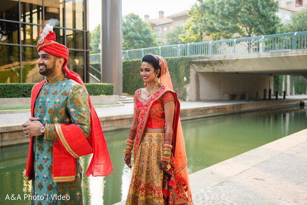 Maharani and Raja's first look