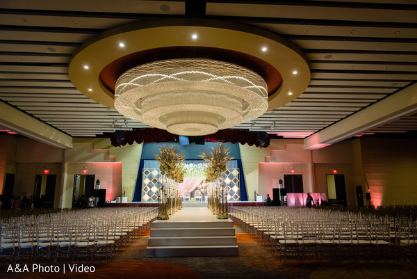 Overview of the wedding venue