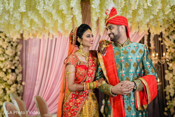 Beautiful picture of Indian couple