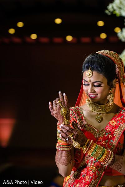 Maharani wearing her bridal jewelry