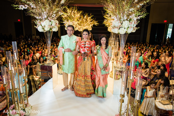 Graceful Maharani making her entrance