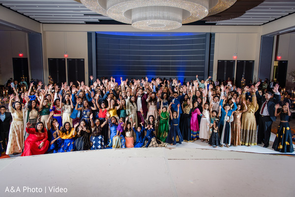 Amazing overview of the Indian wedding guests