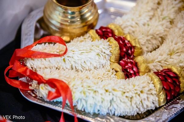 Marvelous Indian groom's baraat garland.