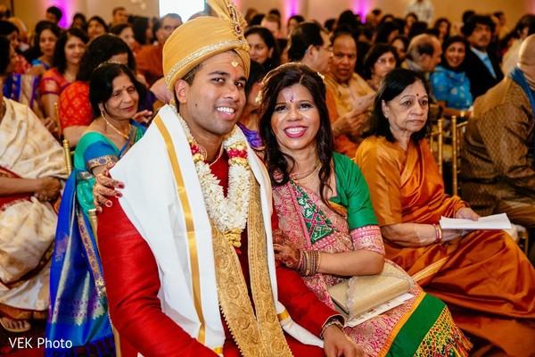 Indian groom with relative capture.