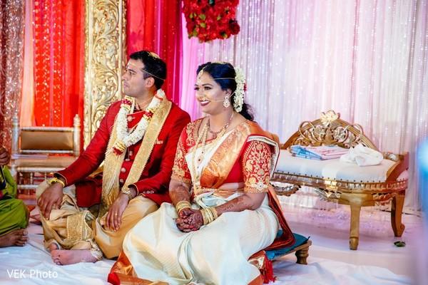 Special Indian wedding ceremony.