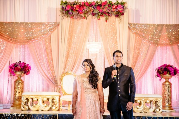 Indian groom's speech moment.