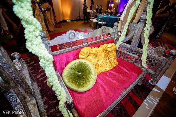 Incredible Indian wedding swing seat.