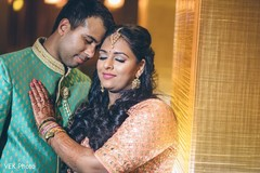 Enchanting Indian lovebirds photo shoot.