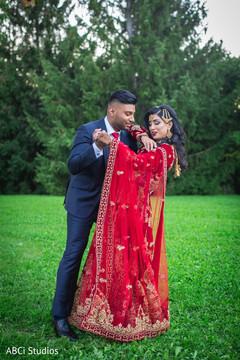 Creative Indian wedding photo shoot.