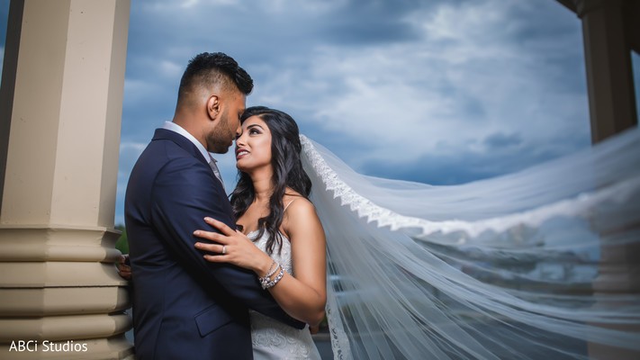 Amazingly heartfelt Indian bride and groom photo session.