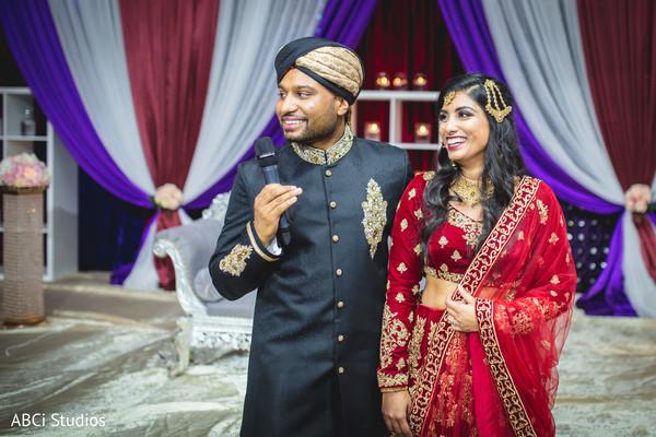 Indian groom's wedding speech.