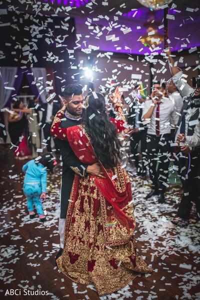 Astounding Indian wedding dance capture.
